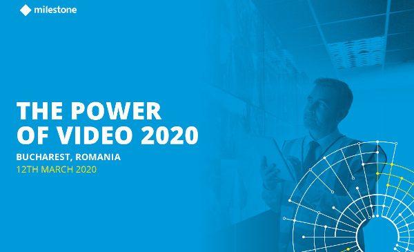 """Roadshow-Ul """"The Power of Video 2020"""" va începe pe 12 martie la București"""