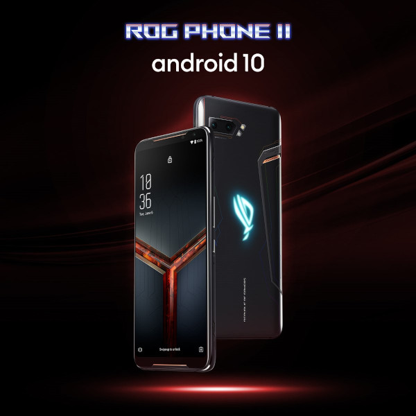 ROG Phone II primeste actualizarea la Android 10