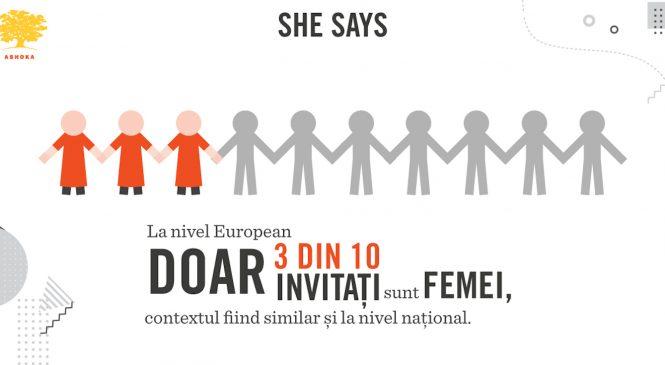 Inegalitatea de gen, prezentă și în rândul conferințelor mari din Europa