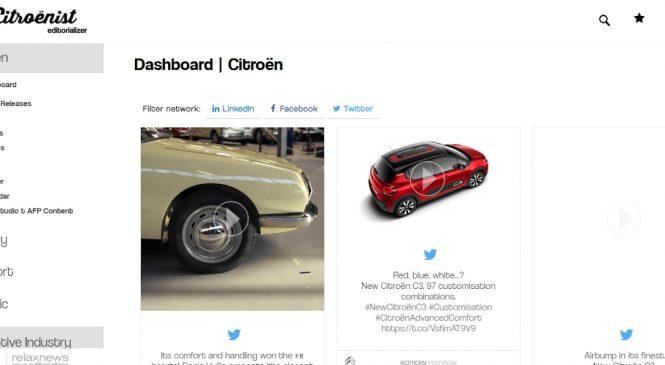 """Pe toată perioada crizei COVID-19, Citroën oferă acces nelimitat la platforma sa de știri """"The Citroënist Editorializer"""""""
