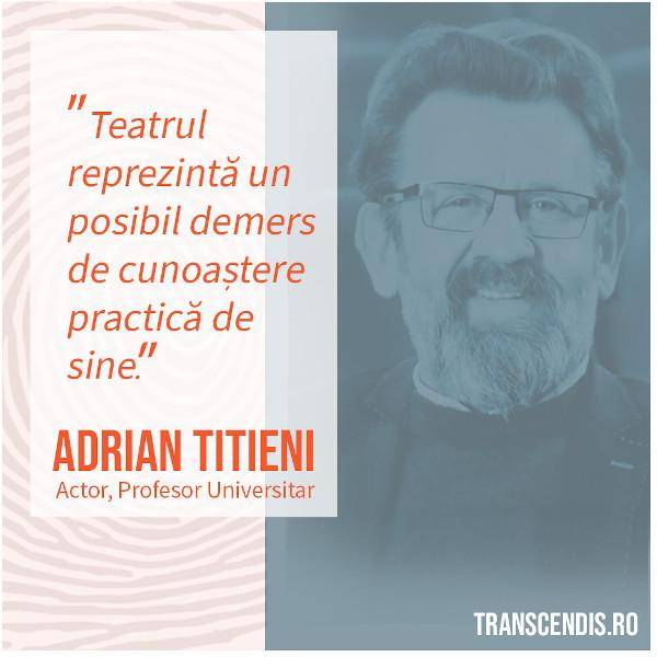 Transcendis Fundamentele evolutiei personale - Adrian Titieni
