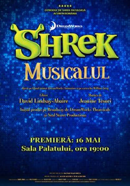 afis Shrek Musicalul