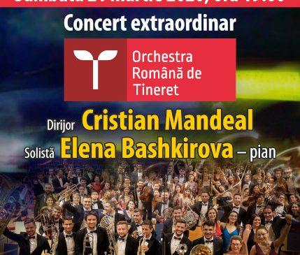 Orchestra Română de Tineret într-un nou turneu la Chișinău – București – Ruse