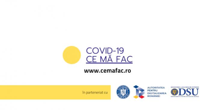 cemafac.ro este live – ghid cu reguli de interacțiune, acțiune și comportament, recomandate în această perioadă
