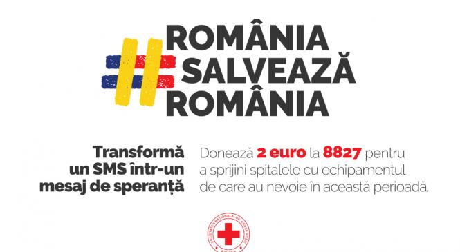 """Crucea Roșie Română lansează campania națională de strângere de fonduri """"România salvează România"""""""