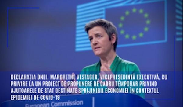 declaratie Margrethe Vestager