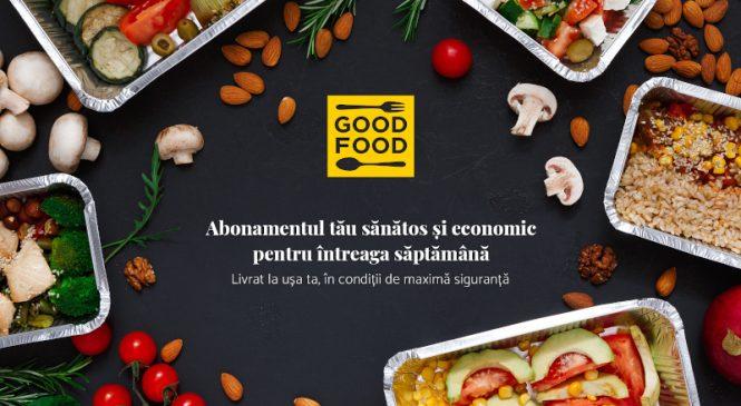 Afacerile din România se reinventează în contextul COVID-19: UNIVERSUM lansează GOOD-FOOD.ro, abonamentul economic de mâncare livrată în condiții de maximă siguranță