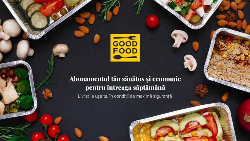 UNIVERSUM lansează GOOD-FOOD.ro, abonamentul economic de mâncare livrată în condiții de maximă siguranță