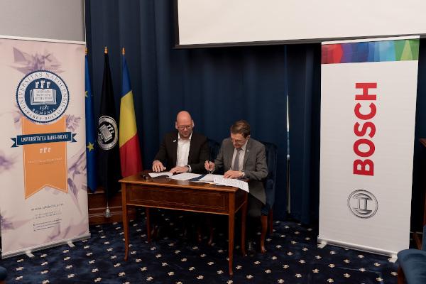 parteneriat strategic Bosch - Universitatea Babes-Bolyai