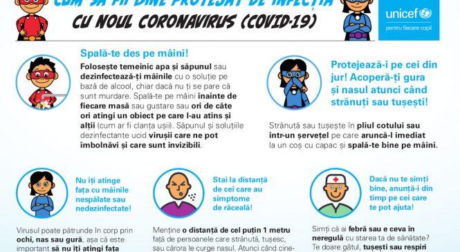 COVID-19: FICR, UNICEF și OMS au emis o serie de recomandări privind protecția copiilor și sprijinirea activităților școlare în siguranță