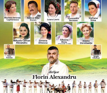 """Orchestra """"LĂUTARII Bucureștiului"""" spectacol de muzică populară de zile mari pe 25 martie, la Sala Palatului"""