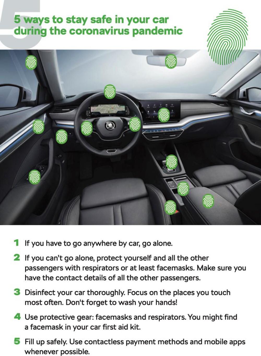 siguranta in calatoriile cu automobilul in perioada pandemiei de coronavirus