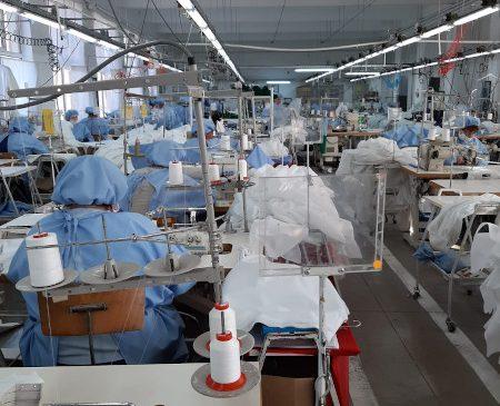 1949Târnava: de două săptămâni fabrica noastră a început producția de echipamente medicale