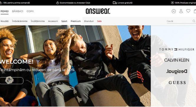 ANSWEAR.ro a înregistrat creșteri de 70% în urma campaniei Spring Black Friday și lansează noul site și noua aplicație mobilă
