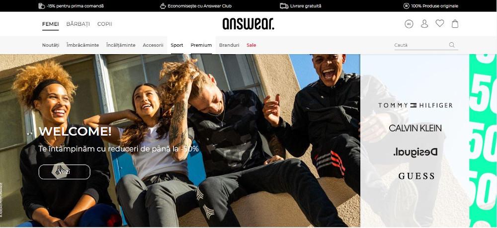 Answear website