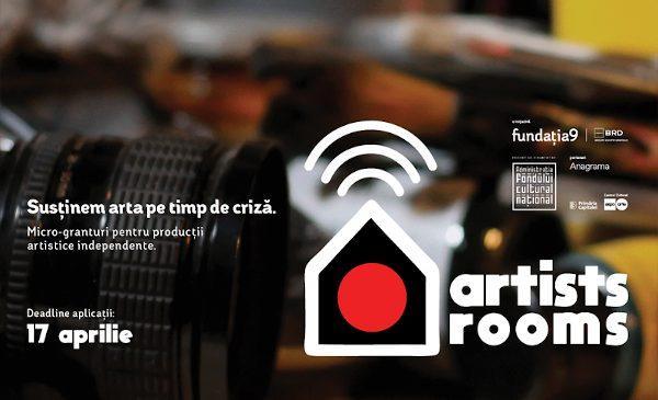 Peste 500 de aplicaţii primite de Fundaţia9 şi BRD Groupe Société Générale în programul Artists Rooms, dedicat artiștilor independenți