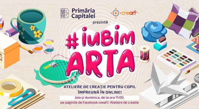 #iubimarta – ateliere de creație online pentru copii