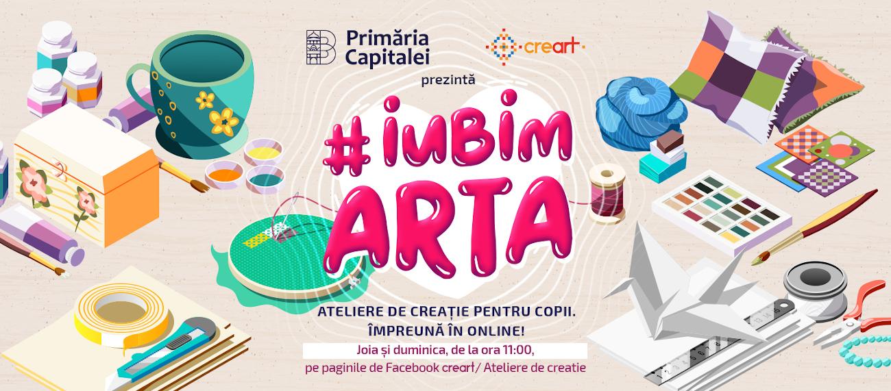 Ateliere de creatie pentru copii - cover