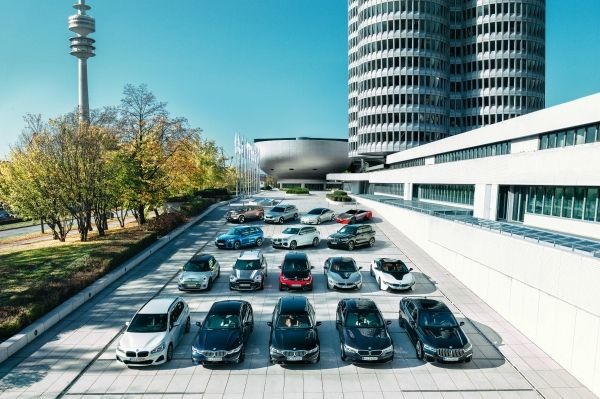 BMW Group electrified vehicles