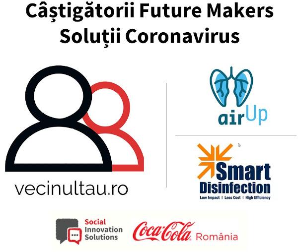 Castigatori Future Makers Solutii Coronavirus