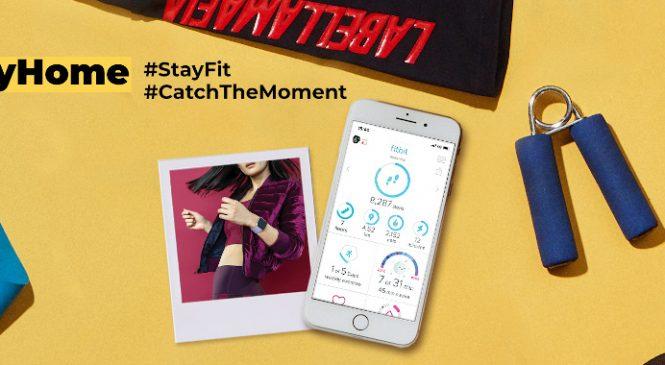 #StayHome #StayFit – tema lunii Aprilie a concursului fotografic Catch the moment, lansat de ANSWEAR.ro