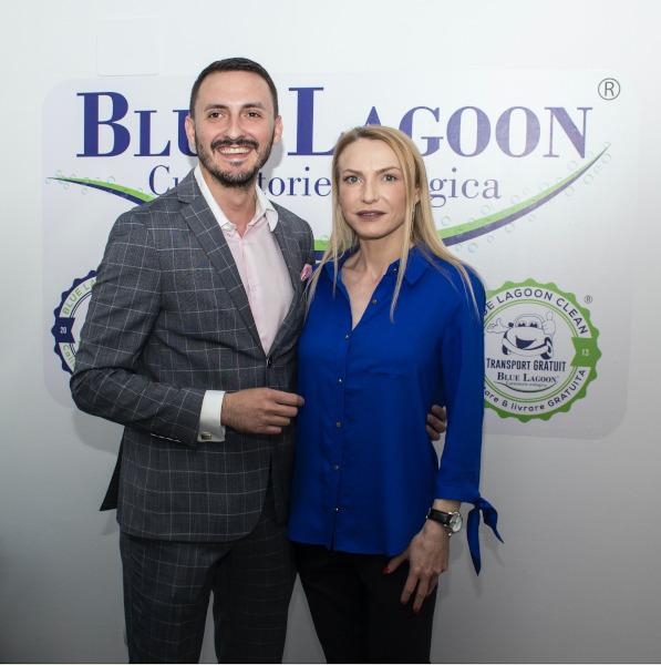 Cristina Tarasevici și Vlad Elias, Blue Lagoon Clean BLC