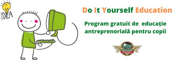 """KEN Academy lansează cursurile gratuite de educație antreprenorială pentru copii """"Do It Yourself Education"""""""