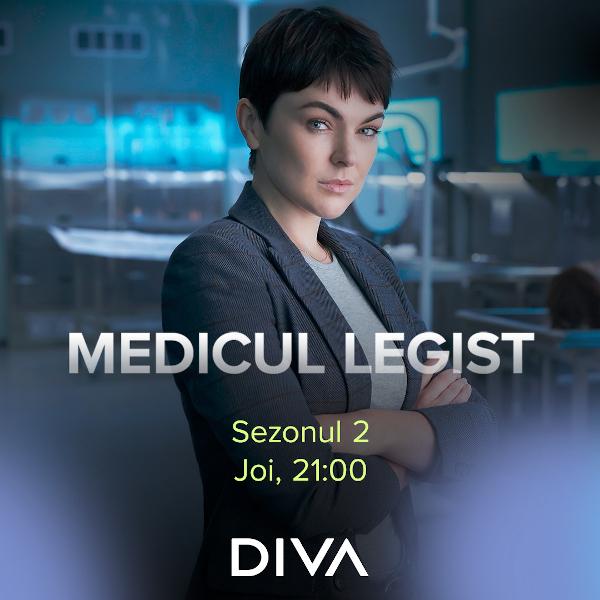 Diva Medicul legist s2