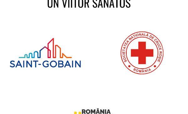 Echipa Saint-Gobain România construiește un viitor sănătos și donează 3306 de echipamente de protecție prin intermediul Societății Naționale de Cruce Roșie din România