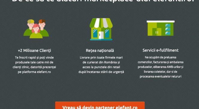 Elefant.ro lansează soluția Elefant Marketplace