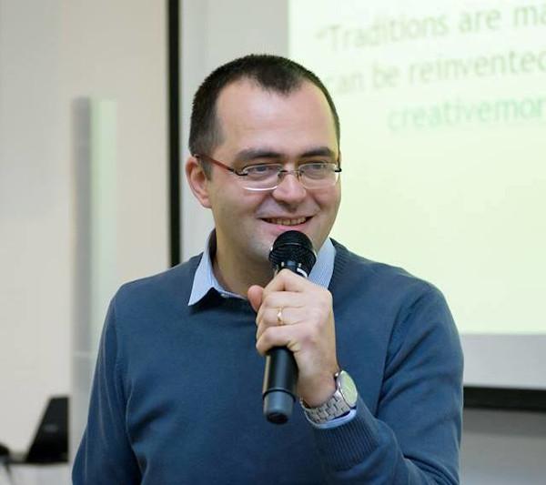 Florin Ghindă. Foto credit Ambasada Timișoara