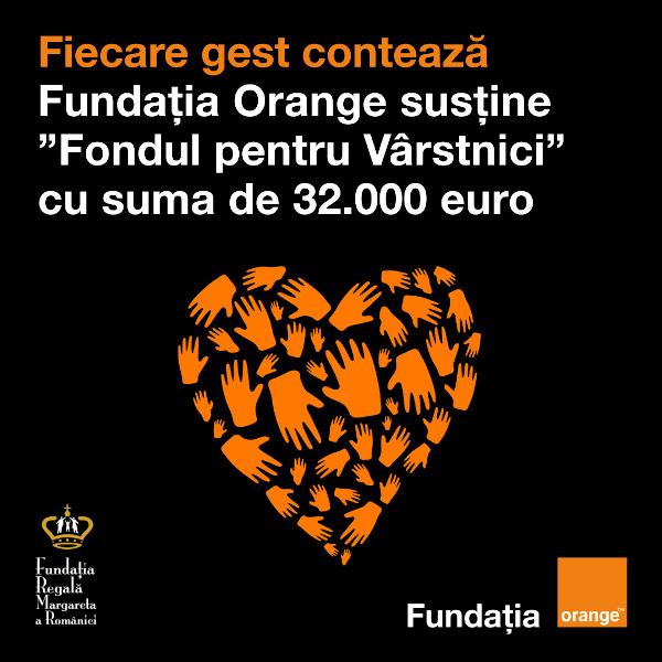 Fundatia Orange_Fundatia Regala Margareta a Romaniei_Fondul pentru Varstnici