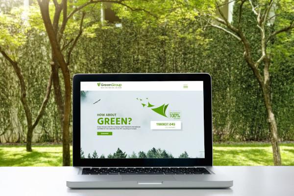 Green Group website