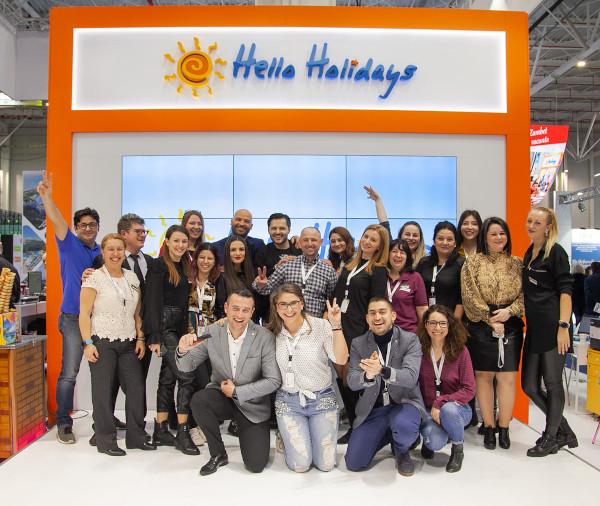 Hello Holidays team