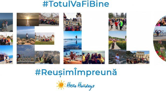 Agenția de turism Hello Holidays este alături de turiștii săi. Reușim împreună!