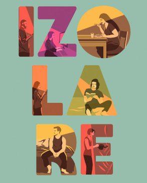 IZOLARE – o antologie-ebook despre distanțare și carantină, disponibil de azi pe nemira.ro