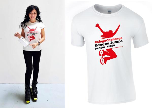 Kinga Kangoo Jumps donatii tricouri