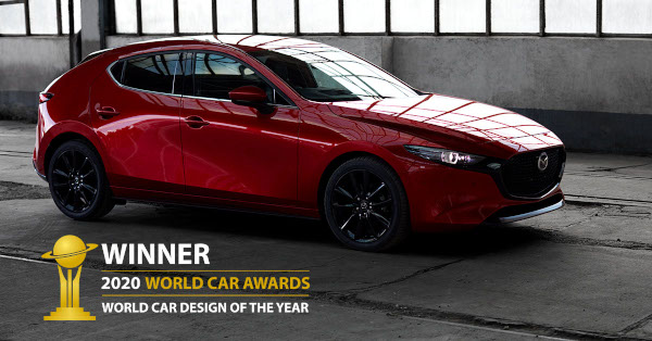 Mazda3 primeste World Card Design of the Year 2020