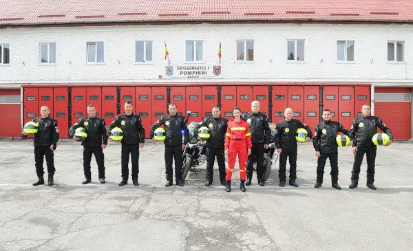 Fundația pentru SMURD, cu sprijinul LIDL România, dă în folosință 2 motociclete de intervenție urbană în județul Brașov
