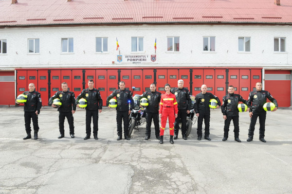 Moto ISU Brasov, donatie Lidl