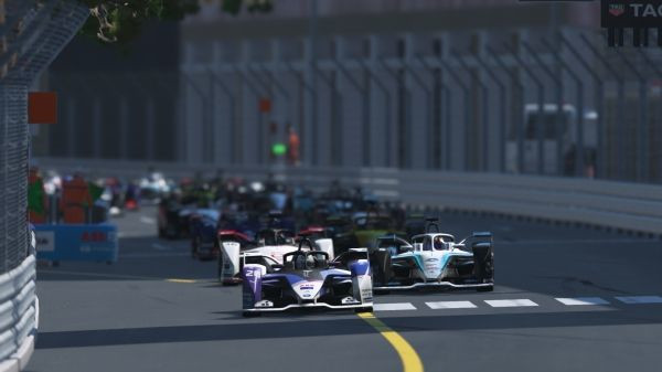 Munich (GER), 18th April 2020. ABB Formula E Race at Home Challenge, virtual Formula E, sim racing, sim, simulation, Maximilian Günther, BMW i Andretti Motorsport, BMW iFE.20, Monaco