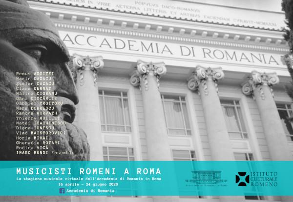 Muzicieni romani la Roma