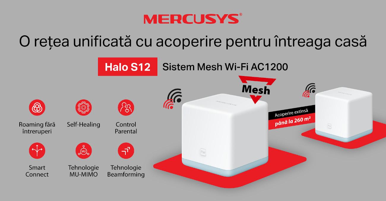 Sistem Mesh Mercusys Halo S12 KV