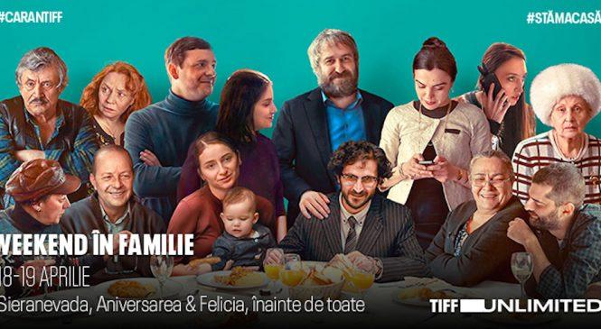 Weekend în familie pe TIFF Unlimited, cu filme românești