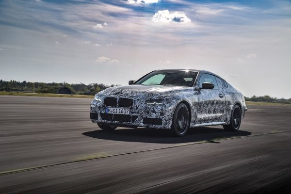 The new BMW 4 Series Coupe. Final set-up runs around Munich