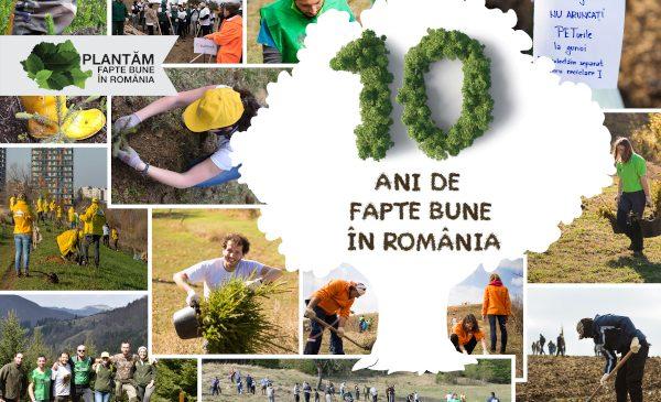 Plantăm fapte bune în România – număram puieții plantați cu gândul la voluntarii care ne susțin de la distanță