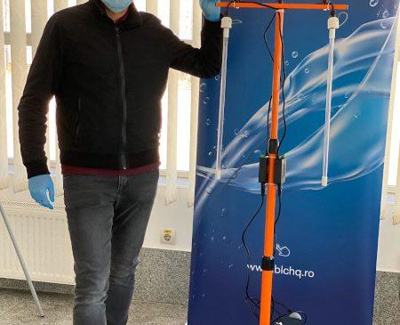 Blue Lagoon Clean a început producția unor kituri de lămpi UVC germicidale cu eficiență 99% împotriva microorganismelor, inclusiv COVID-19