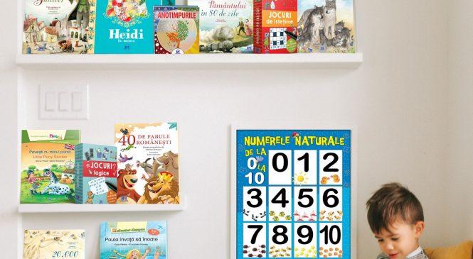 Ziua Cărților pentru Copii la Editura DPH: Top cărți care contribuie la dezvoltarea cognitivă și emoțională a copiilor