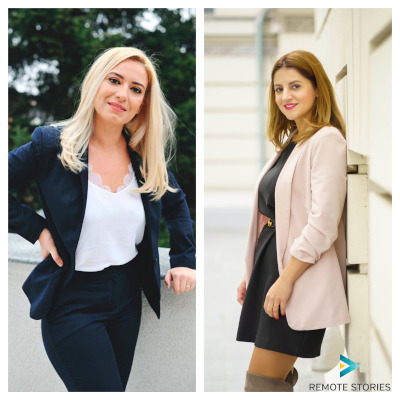 Amalia Ștefan & Mara Eliza Barza, co-fondatoare Remote Stories