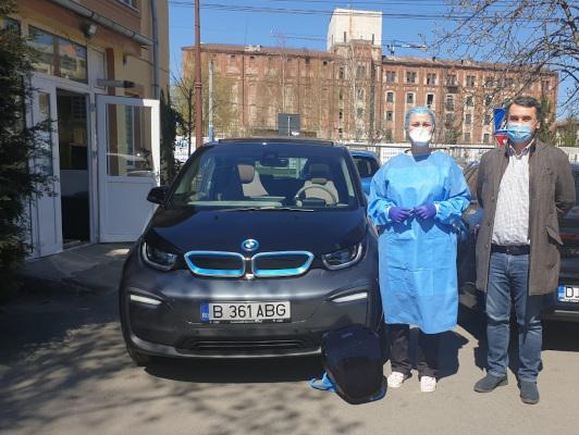 Automobile Bavaria sprijin spitale pandemie